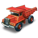 car, dump, mack, truck icon