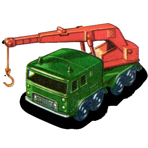 crane, truck, wheel icon