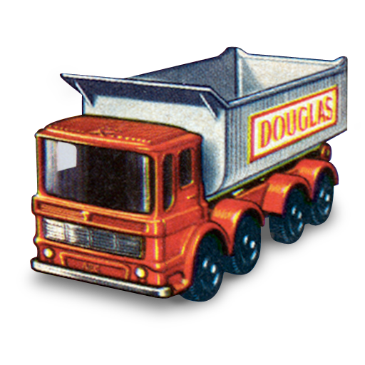 tipper, truck, wheel icon