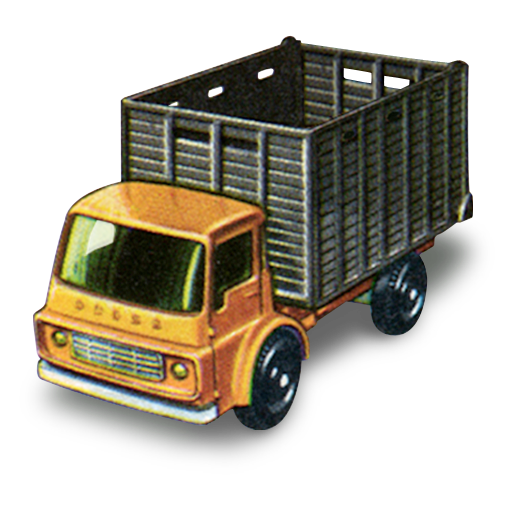 cattle, truck icon