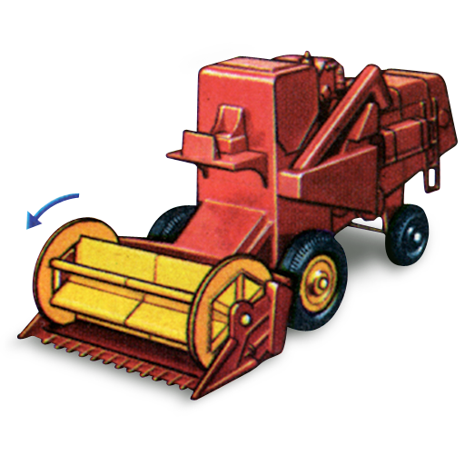 combine, harvester, movement icon