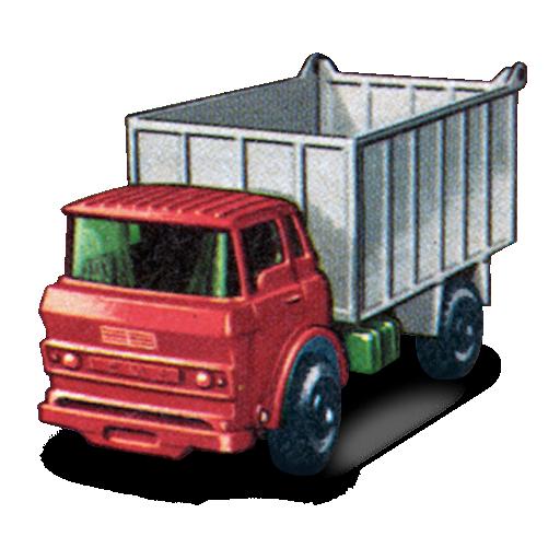 gmc, tipper, truck icon