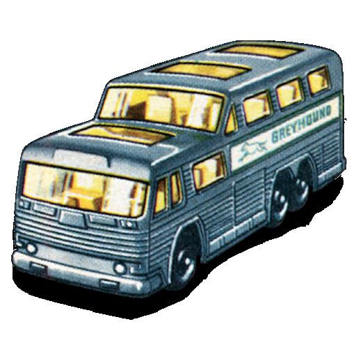 bus, greyhound icon