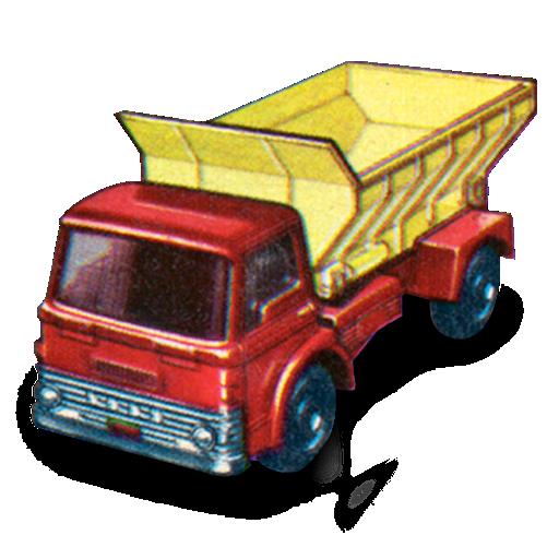 car, grit, spreader icon
