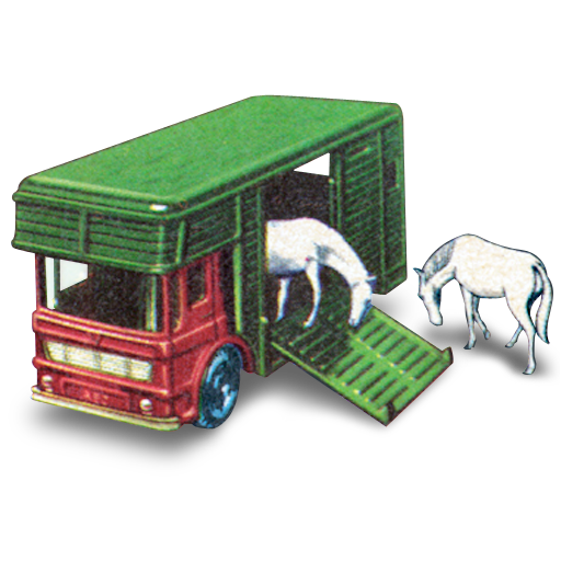 box, horse, horses, two, with icon