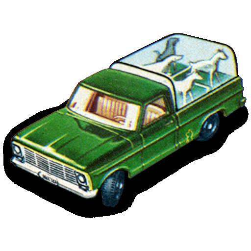car, kennel, truck icon
