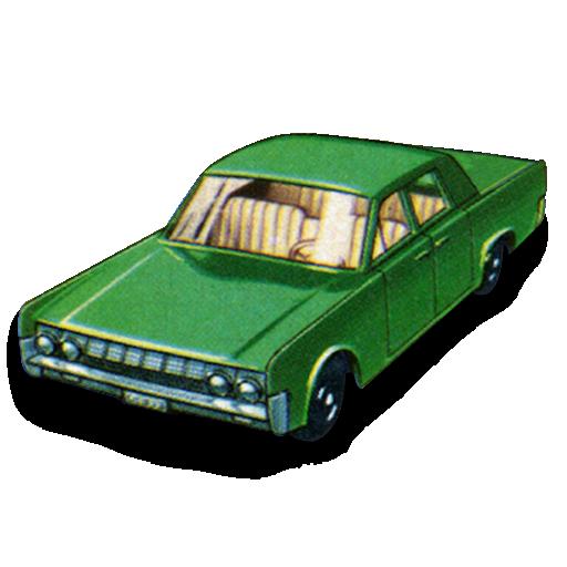 car, continental, lincoln icon