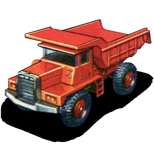 car, dump, mack, truck icon