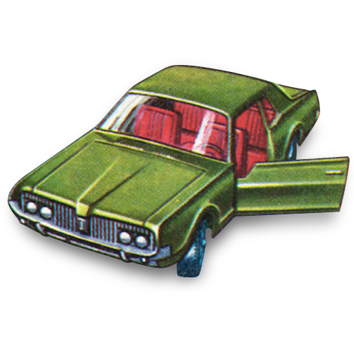 car, cougar, mercury icon