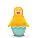 duck, matryoshka icon