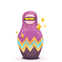 matryoshka, space icon