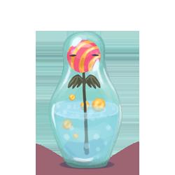 flower, matryoshka icon