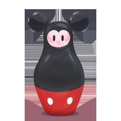 matryoshka, mickey icon