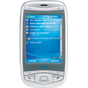 cell, mobile, phone, qtek 9100 128