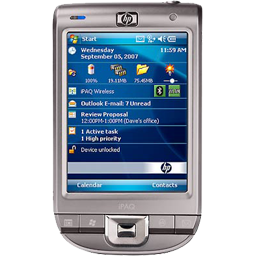 Cell, hp ipaq 111, mobile, phone, windows mobile icon - Free download
