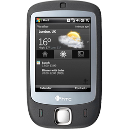 Htc mobile, htc touch, mobile phone, windows mobile icon - Free download