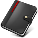 moleskine, notebook icon