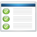 panel, setting icon