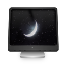 computer, sleeping icon