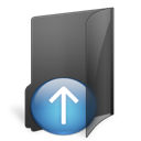 folder, upload icon