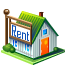 house, rent icon