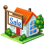 house, sale icon