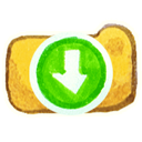 download, om icon