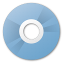 cd, disc, orange icon