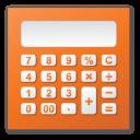 calculator, red icon