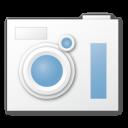 blue, camera icon