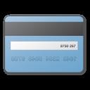 blue, card, credit icon