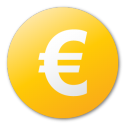 currency, euro, yellow