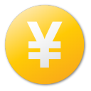 currency, yellow, yuan icon