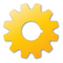 gear, yellow
