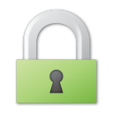 green, lock icon