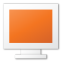 monitor, red icon