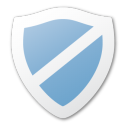 blue, protect, shield icon