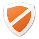 protect, red, shield icon