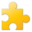 puzzle, yellow icon