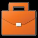 briefcase, career, case, job, red, suitcase icon
