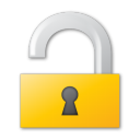 lock, yellow icon