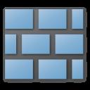 blue, wall icon