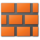 red, wall icon