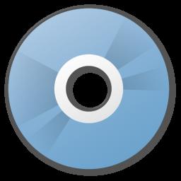 cd, disc, orange icon