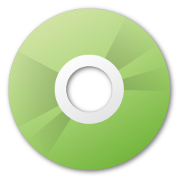 cd, green icon