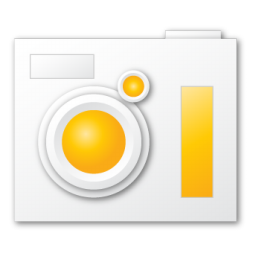 camera, yellow icon