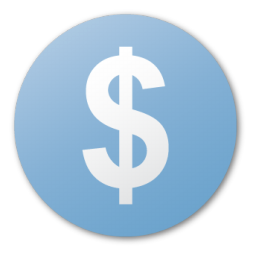 blue, cash, currency, dollar, funding, investment, money, usd icon