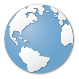 blue, browser, earth, global, globe, international, internet, planet, world icon