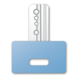 blue, key icon