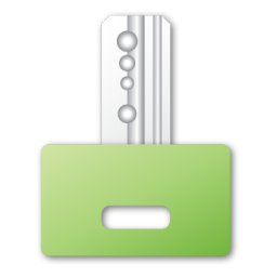 green, key icon